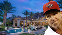 Randy Johnson -- Selling AZ Mansion ... Movie Theater. Gym. Waterslide.