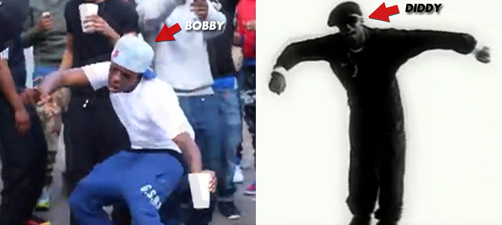diddy the shmoney dance is just like my diddy bop