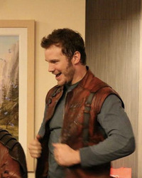 Chris Pratt Visits Fans in Star-Lord Costume at Children's Hospital Los Angeles