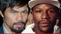 Manny Pacquiao -- Rips 'Uneducated' Floyd Mayweather