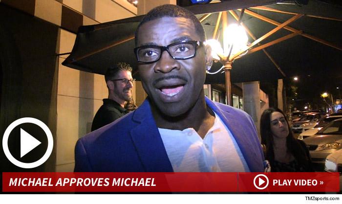 Michael Irvin Michael Sam to Cowboys: I LOVE IT!!