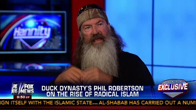 Duck Dynasty' Star Phil Robertson -- When It Comes to Isis ... We ...
