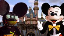 Deadmau5 vs Mickey Mouse -- Fighting Over Ears ... and Maybe Molly