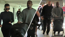 Kanye West -- Pop Quiz ... in Airport Anger Management