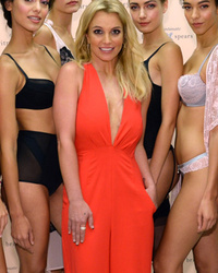 Britney Spears Unveils Incredibly Sexy Lingerie Collection at Fashion Week