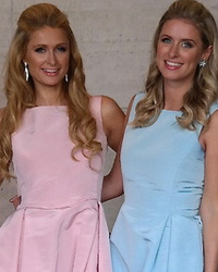Dueling Dresses: Paris Hilton vs. Nicky Hilton