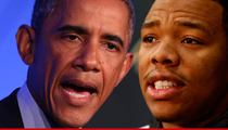 President Obama -- Ray Rice Is Not a 'Real Man'