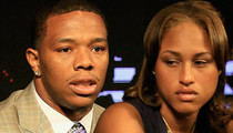 Ray Rice -- Breaks Silence ... 'I Have To Be Strong for My Wife'