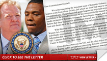 Congress to NFL -- Stop BS'ing America ... Come Clean On Ray Rice Tape
