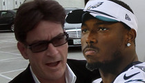 Charlie Sheen -- Giving $1,000 to Waiter ... Who Got Stiffed By NFL Star