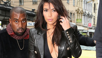 Kim Kardashian Flaunts Serious Cleavage With Kanye West in Australia