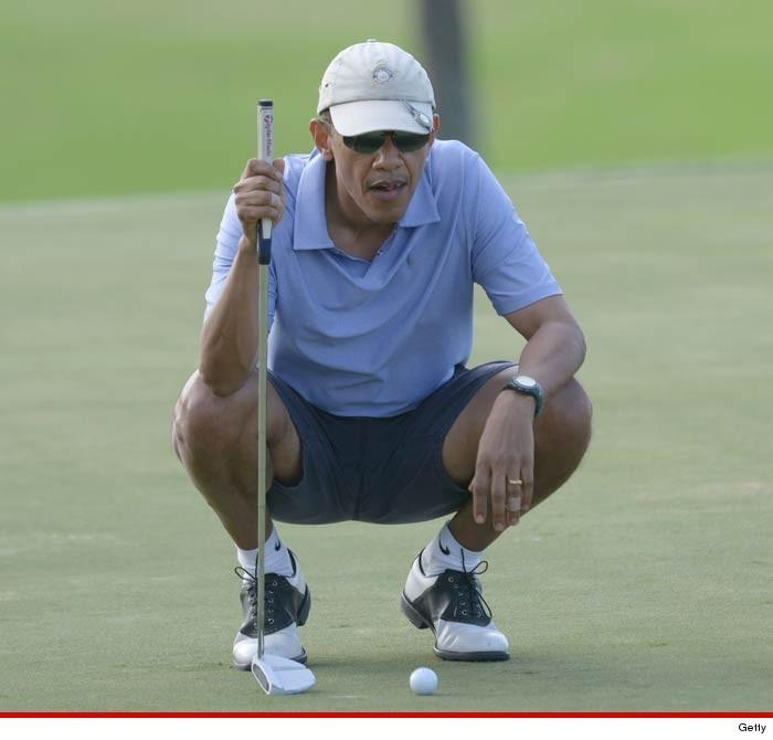 ... Obama -- No Tee Time for You! Dissed by Trump Golf Course | TMZ.com