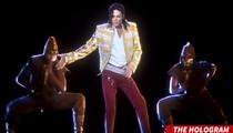 Michael Jackson -- Hologram Triggers Gun, Hitler Threats