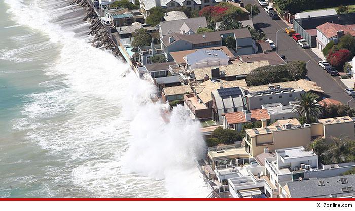 Celebrity Homes Malibu Waves