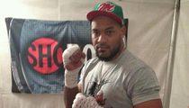 Boxer Gerald Washington -- Arrested In Burbank