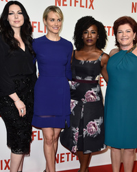 """Orange Is the New Black"" Stars Stun at Netflix Launch Party"