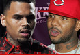 Chris Brown & The Game -- Bloods Brothers Play in Anti-Gang Basketball Game