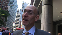NBA Commish Adam Silver -- ROGER GOODELL'S DOING A GREAT JOB