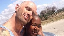 'Django' Actress & BF ... TX Cops ALSO Racially Profiled Us!