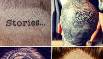 Guess Whose Ink-redible Head Tattoos!