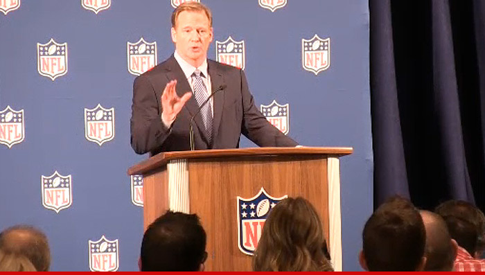 Roger Goodell Not Ready to Talk About Kareem Hunt ...