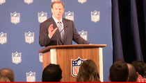 Roger Goodell -- I'M NOT GOING TO RESIGN ... Owners Support Me