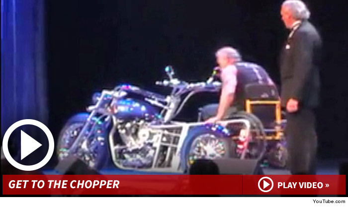 American Choppers Wheelchair Motorcycle