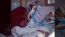 August Alsina -- Wakes Up From 3-Day Coma ... After Collapsing Off Stage