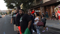 Floyd Mayweather -- 6 BODYGUARDS ... For Chicken & Waffles Run