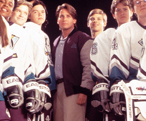 """Mighty Ducks"" Cast Reunites Over 20 Years"