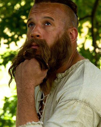 "Vin Diesel is Nearly Unrecognizable (With Hair!) in ""The Last Witch Hunter"""