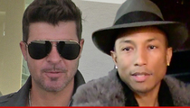Robin Thicke & Pharrell Williams -- If We Stole Songs ... So Did Beethoven!