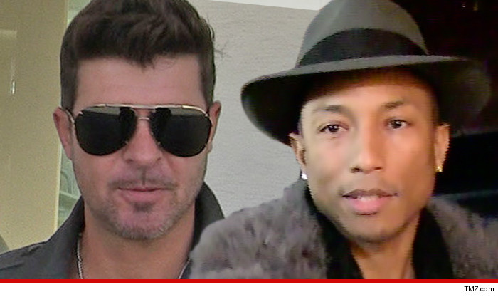 Robin Thicke Pharrell Williams Blurred Lines Lawsuit