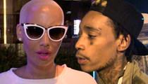 Amber Rose Divorce ... She Says Wiz Khalifa is a Serial Cheater