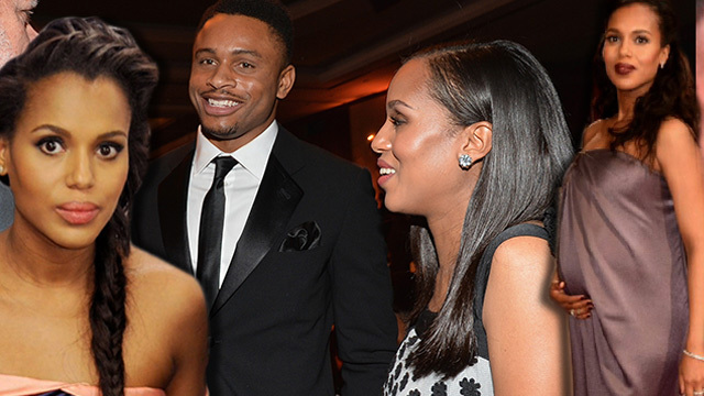 kerry washington hiding in plain sight with baby
