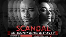 Columbus Short -- Throwing 'Scandal' Premiere Party -- Come Watch Me Die