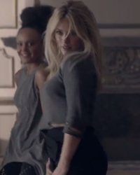 "Hilary Duff Shows ""Naughty"" Side in ""All About You"" Music Video"