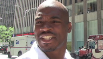 Adrian Peterson Investigated for Sexual Assault ... and Cleared