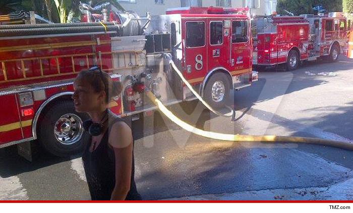 Alexis Knapp Apartment Fire