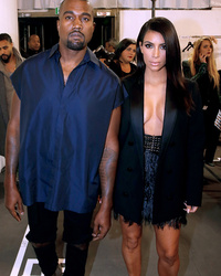 Kim Kardashian & Kanye West Booed at Paris Fashion Week
