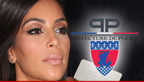 Paris Cops -- We Don't Care about Kim Kardashian