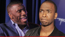 Shannon Sharpe -- HATED 'SNL' Spoof ... 'That Was a Horrible Impersonation'