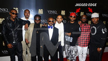 Jagged Edge -- Tossed Out of Jermaine Dupri's Nightclub Birthday Party (UPDATE)