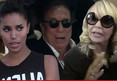 Donald Sterling -- Busted at Home With V. Stiviano ... Shelly Calls Cops
