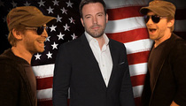 Ben Affleck -- Full Frontal and LOVING It!