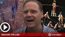 Nik Wallenda -- Walking Tightrope in Chicago Wind Might Blow ... Hard