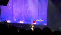 Mariah Carey -- MAJOR Voice Problems During Concert in Japan