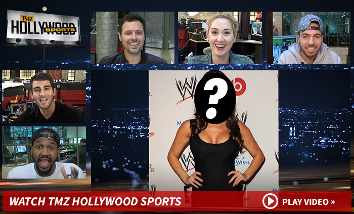 'TMZ Hollywood Sports' -- I PAID $6,500 FOR MY BOOBS ... You BETTER Stare!