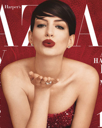 Anne Hathaway Poses Topless, Reveals Why She Started Eating Meat Again