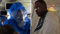 Ebola Scare -- Airline Passenger Pleads ... 'I Ain't From Africa'